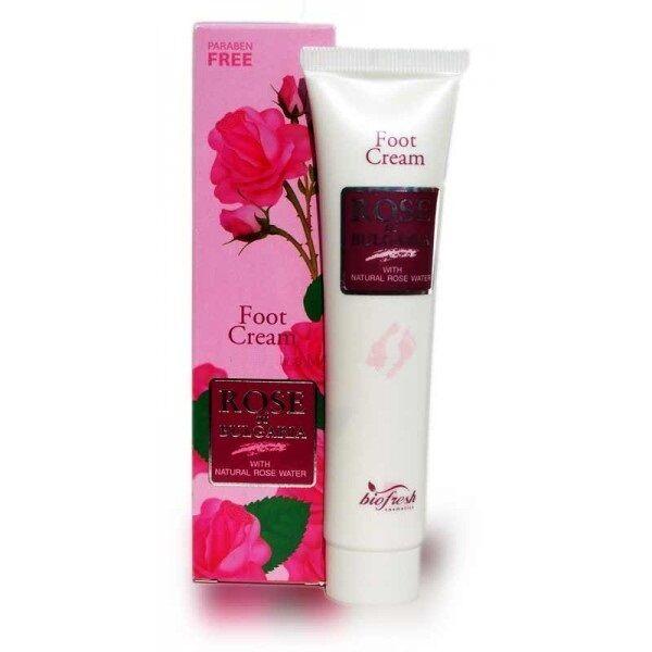 Bulgarian Rose Foot cream  with rose water 75ml