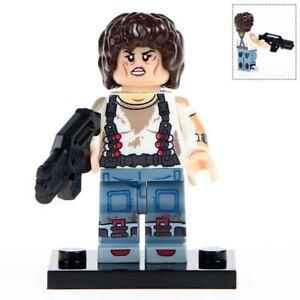 Ellen-Ripley-Xenomorph-Alien-Hunter-Lego-Minifigure-Moc-Design-Gift-For-Kids