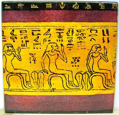 Ägypten Pharao Bild Keramik Fliese Mitbringsel Geschenk Handarbeit karobe deko