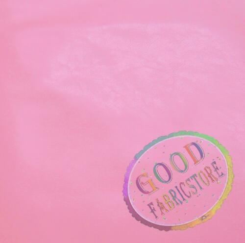 Pe231r Pink Faux Leather Sheep 3D Round Shape Seat Cushion Cover Custom Size