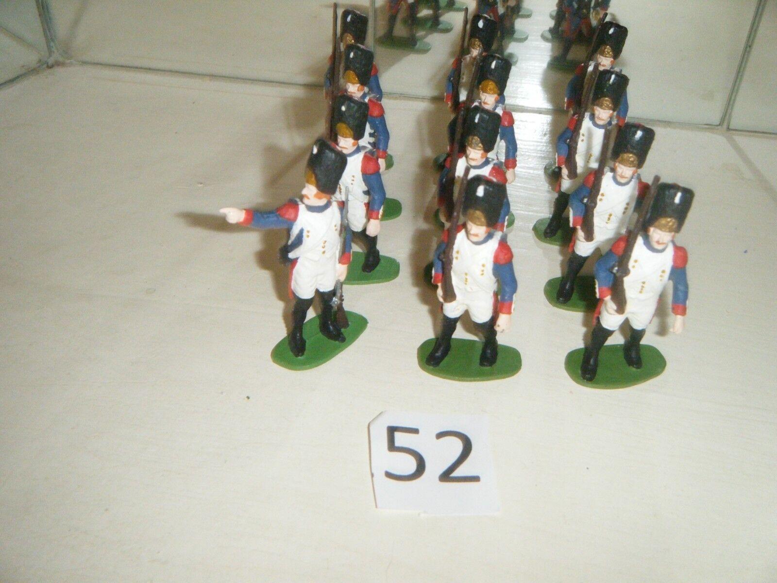 Figuren 1 32 Nr52  Französische Generadiere Waterloo 1815 Figure 1 32 Vintage
