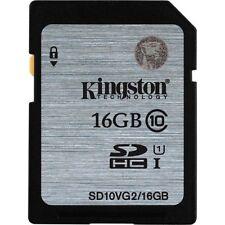 Kingston 16gb SDHC Card Class 10