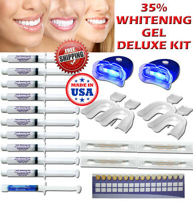 35 Peroxide Gel Teeth Whitening Laser Led Uv Light Whitener At