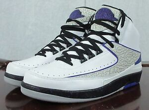 online store 99692 c4b16 Image is loading Nike-Air-Jordan-2-II-Retro-Dark-Concord-