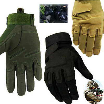 Full finger Military Tactical Hunting Cycling Motorcycle Sports Gloves M/L/XL