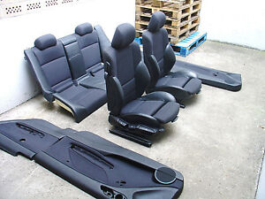 inkl umbau bmw e46 coupe lederausstattung teilleder. Black Bedroom Furniture Sets. Home Design Ideas