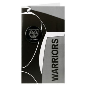 Image Is Loading 98877 NEW ZEALAND WARRIORS NRL BLANK BIRTHDAY GIFT