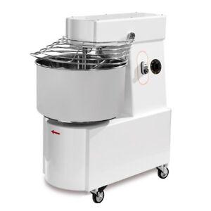 Sanft Spiral Teigkneter 17 Kg 22 L 230 V Mit Edelstahl Kessel & Teigbrecher Gastlando Küchenmaschinen & Kleingeräte Bäckereiausstattung