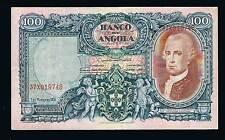 Angola Banknotes Angolar 100 ANGOLARES 1-03-1951 PIC84  RARE GRADE  VERY FINE+++