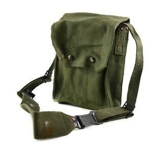 Image Is Loading Original French Army Magazine Pouch Mat Ammo Bag