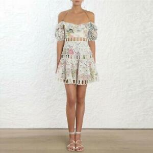 Summer-Zimmermann-Style-Floral-Short-Dress-Ruffle-Lace-Mini-Women-Dresses-SML