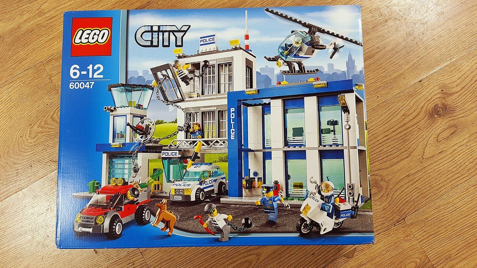 LEGO City 6047 Polis Station från 2014Nytt, öppet, bra villkor
