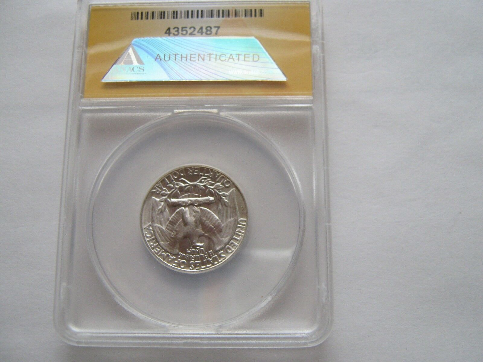 1958 , Washington Quarter , Type B Reverse , FS-901 , P