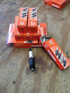 Pack of 1 Autolite 5144 Copper Resistor Spark Plug