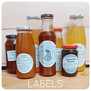 Personalised-Jam-HONEY-Labels-sticky-STICKERS-Rectangular-ROUND-CIRCLES-custom