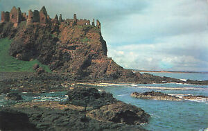 Rare-Vintage-Postcard-Antrim-Dunluce-Castle-Northern-Ireland-Aug-1965