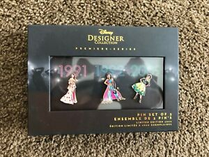 Disney-Princess-Pin-Set-Premier-Designer-Collection-Set-Two-Limited-Edition-2018
