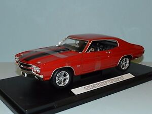 Greenlight-Coll-1-18-Fast-amp-Furious-Dom-039-s-1970-Chevrolet-Chevelle-SS-MiB