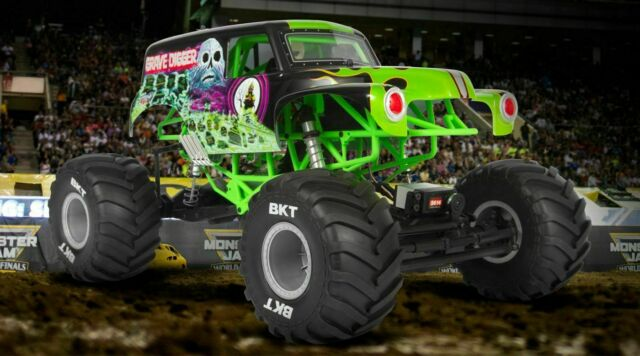Axial Smt10 Grave Digger Monster Jam Truck RTR 4wd for sale online | eBay