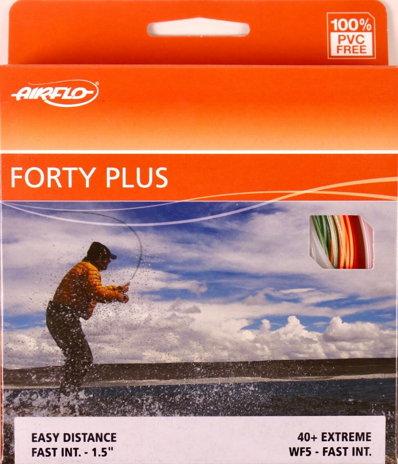 Airflo Forty Plus Extreme WF5 Fast Intermediate Fly Line FREE FAST SHIPPING 40+