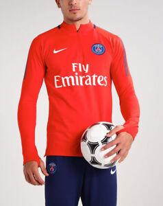 0d2f97b03 Nike Paris Saint-Germain 17 18 Dri-FIT Squad Drill Men s Football ...