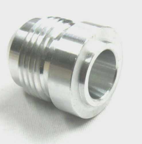 10 AN Male Flare Round Weld Bung Aluminum