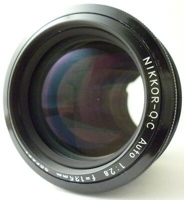 =EXC+++= Nikon NIKKOR-Q.C Auto 135mm f/2.8 Telephoto Lens from Japan