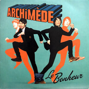 Archimede-CD-Single-Le-Bonheur-Promo-France-VG-VG