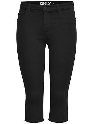 ONLY Damen 3//4 Capri Jeans Hose onlRAIN REG SK KNICKERS CRY5055 blau Sommer NEU