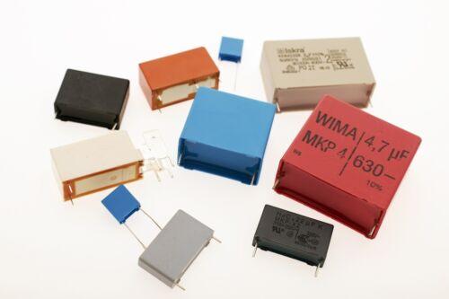 50x B32673Z6334K000 0,33µF Folienkondensator 310V 630V 10/% RM22,50 #717221