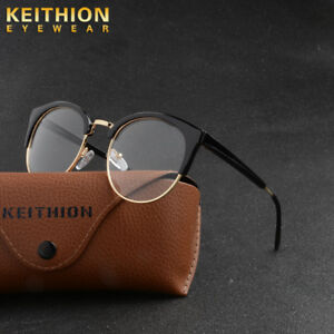 5d1c23c43b Image is loading Men-Women-Retro-Eyeglasses-Frame-Glasses-Vintage-Eyewear-