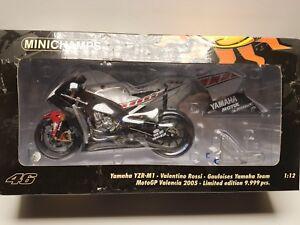 Honda Rc211v Valentino Rossi Valence Moto GP 2005 1:12 Minichamps 122053086