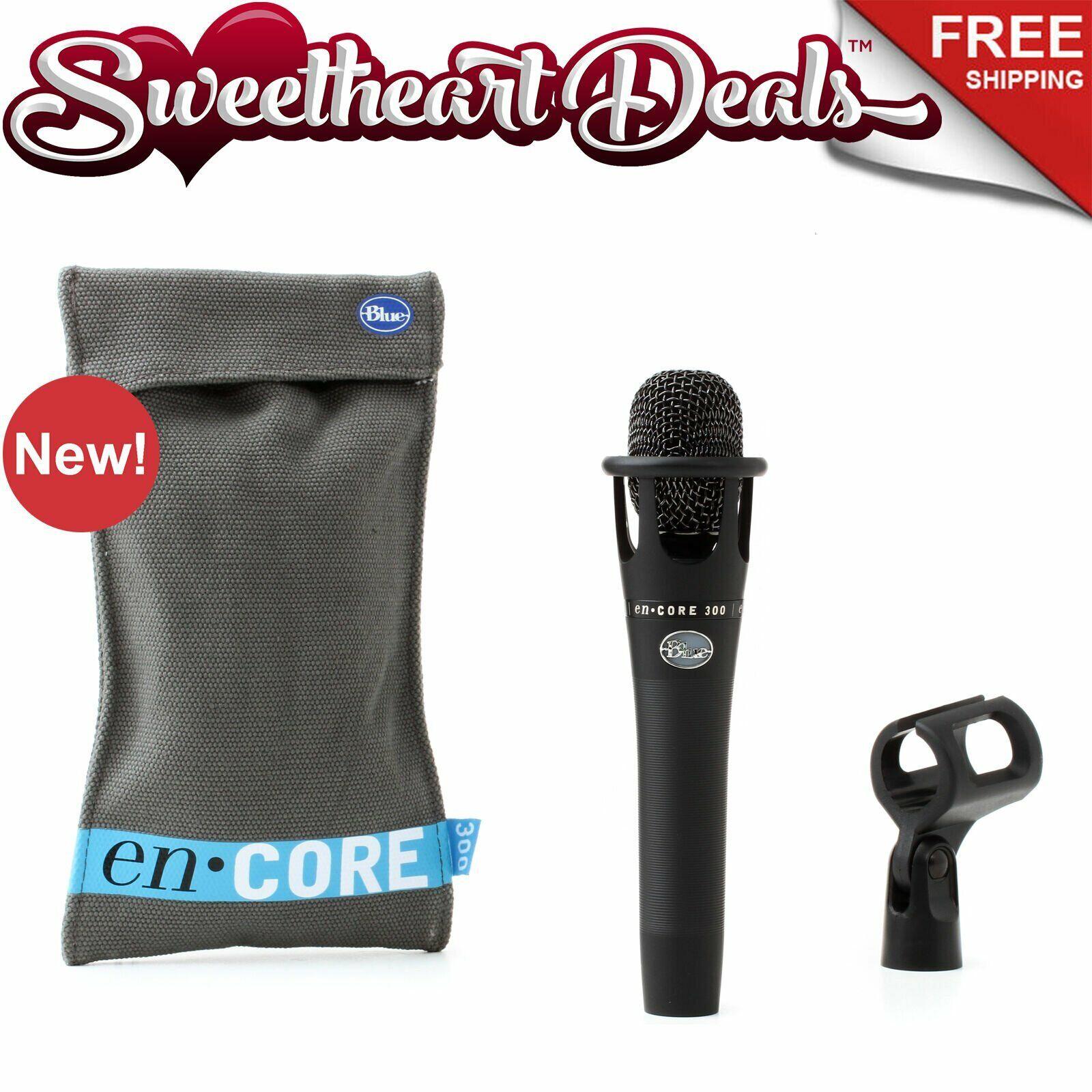 Blau Microphones enCORE 300 schwarz - Active Dynamic Handheld Microphone