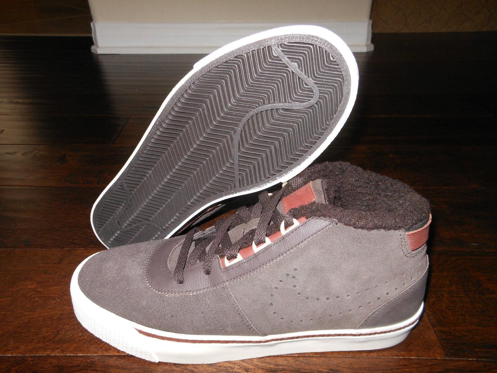 NIKE HACHI LTR Leather Shoes Size 7 Men 40 EUR Velvet Brown/Oxen
