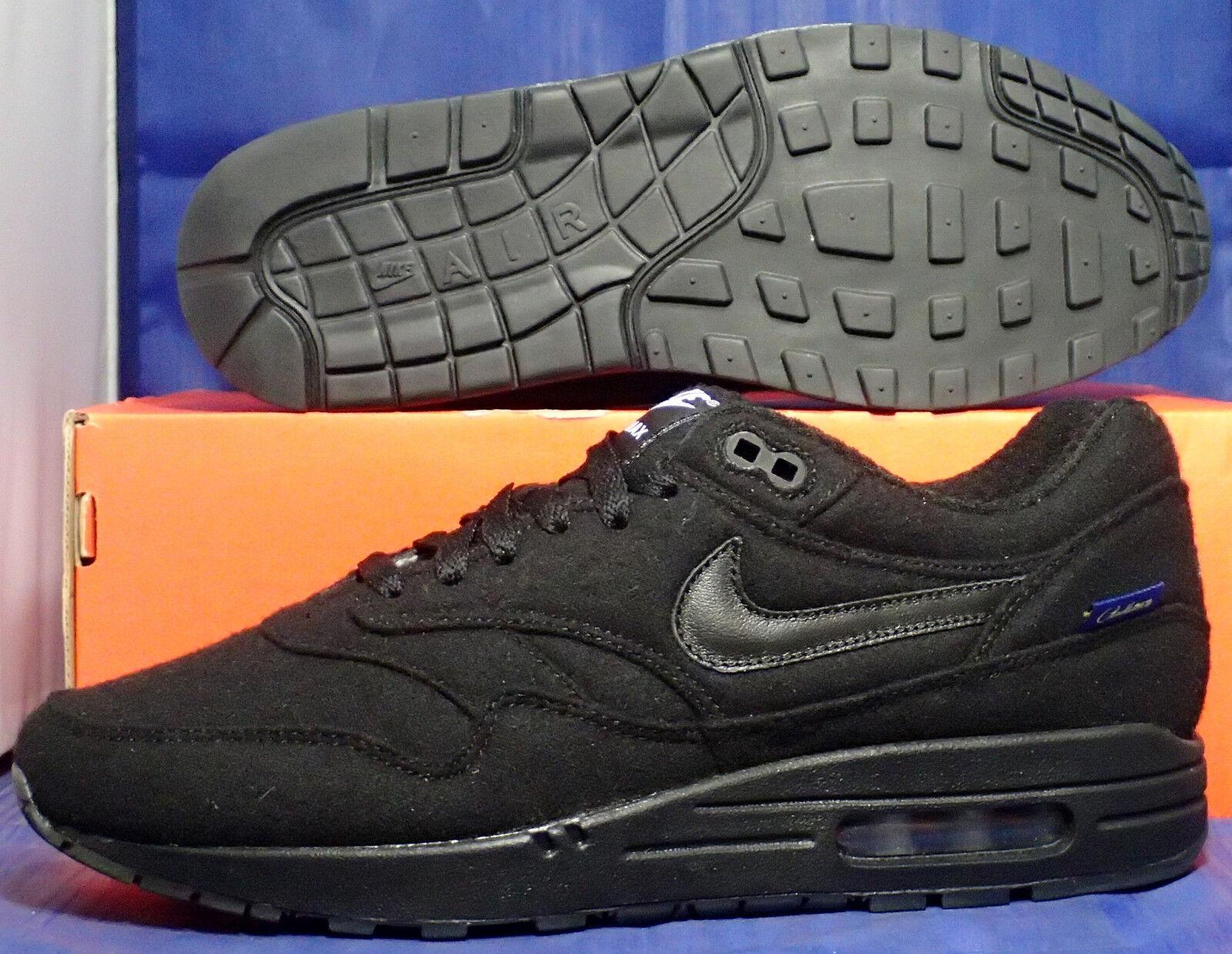 Nike air max 1 premio pendleton id nero sz (744453-991)