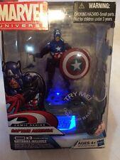 Hasbro Marvel Universe Lot BUCKY VARIANT CAPTAIN AMERICA With LIGHT UP BASE