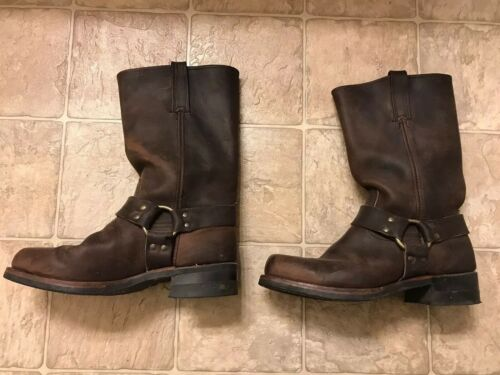 Frye Motorcycle Harness Boots Gaucho #87350