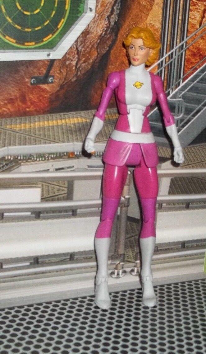 DC UNIVERSE classeeICS SATURN GIRL cifra OF LEGION  SUPER HEROES scatola SET MATTEL  punto vendita