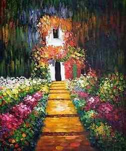 Monet-Giverny-Keilrahmenbild-auf-Leinwand