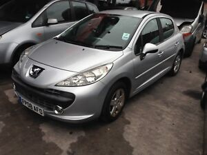 2008-PEUGEOT-207-IN-SILVER-1-X-WHEEL-NUT-FULL-CAR-FOR-SPARES-PARTS-BREAKING