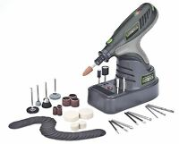 Genesis 7.2 Volt Lithium Ion Hobby Tool With 65 Piece Accessory Set Tools and Accessories