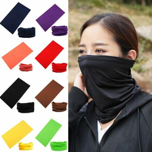 Fashion Warmer Unisex Outdoor Scarf Tube Magic Outdoor Bandanas Snood Headwear