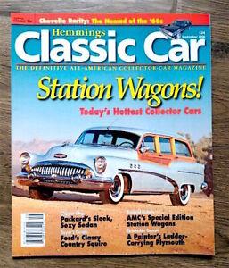Hemmings-Classic-Car-Magazine-24-September-2006-Station-Wagons-FREE-SHIPPING