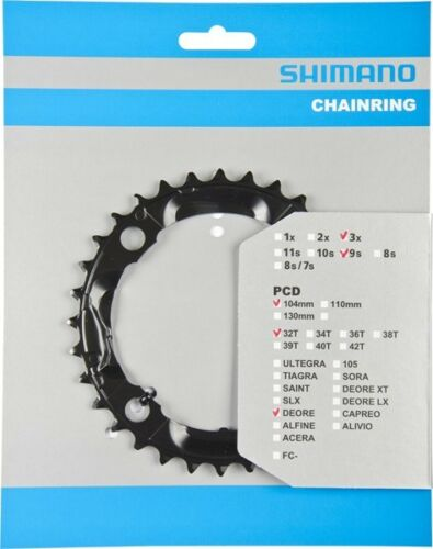 Various Zähnezahlen Shimano Sprocket Deore Fc-M590 M532 9-speed