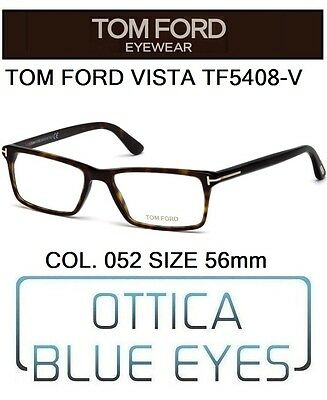 Occhiali Da Vista Tom Ford Tf5408v 052 56mm Eyeglasses Brillen Ft Havana Italy