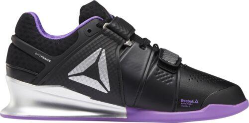 Reebok Héritage Lifter Femme Haltérophilie Chaussures Noir Gym Lifting Bottes