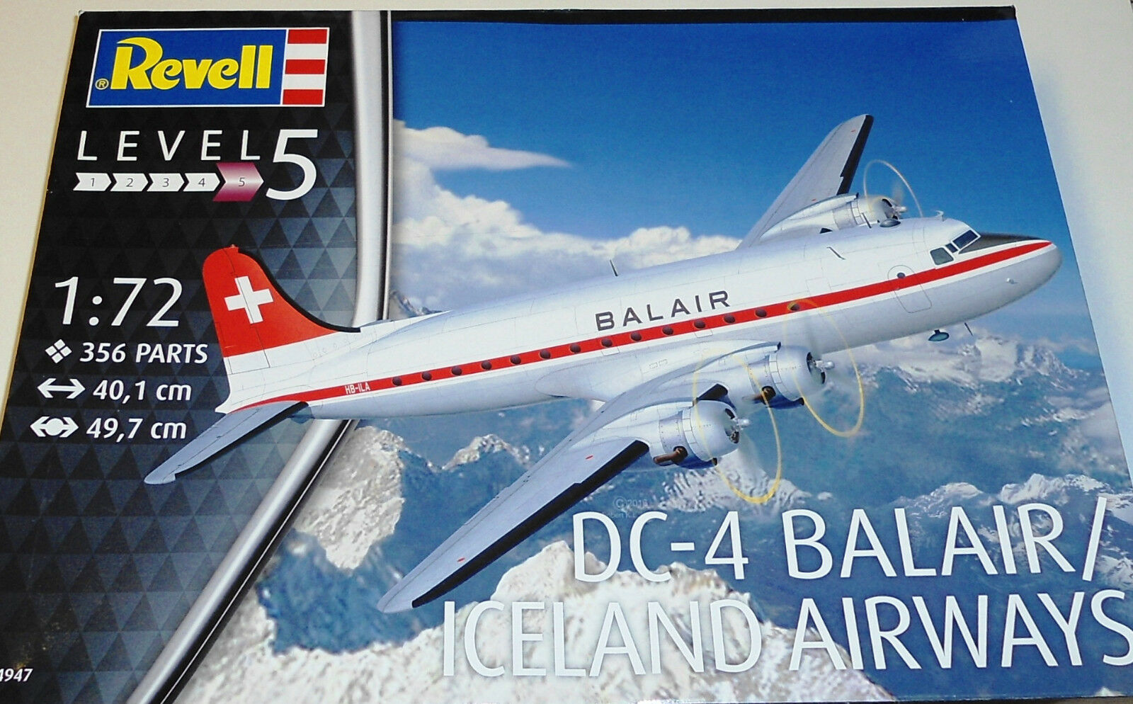 Revell Tyskland 1  72 Douglas DC -4 Balair