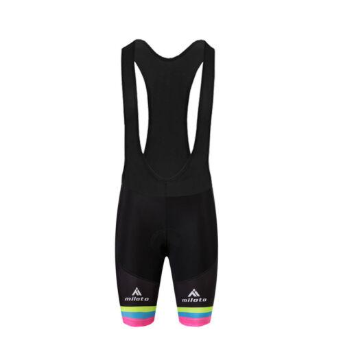 Gradients Women/'s Bike Jersey /& Shorts Reflective Female Bike Clothes Kit Bib