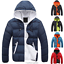 Fashion-Men-Boy-Winter-Warm-Hooded-Thick-Padded-Jacket-Zipper-Slim-Outwear-Coat miniatura 1