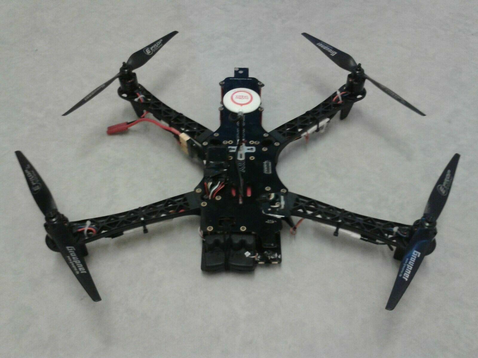 TBS Discovery DJI Naza GPS ImmersionRC EzOSD MOTORI ESC 980KV Quadcopter Drone